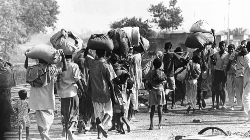 People leaving their home due to desh vag